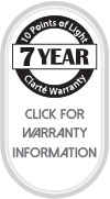 Clarté Lighting 7 Year Warranty
